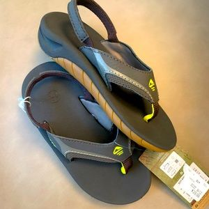 {Reef} Young Bous Leather Sandal